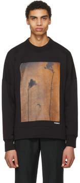 Acne Studios Black Folke Print Sweatshirt