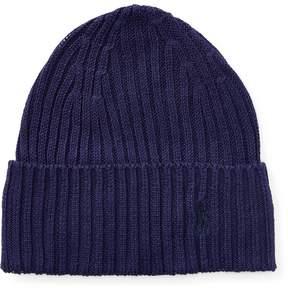 Ralph Lauren Rib-Knit Linen Hat