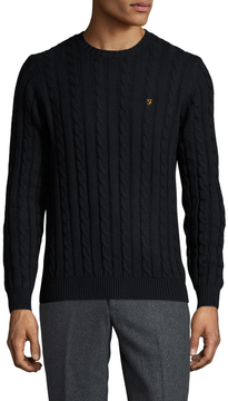 Farah Men's Cotton Norfolk Sweater