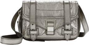 Proenza Schouler PS1 Mini Zipper Silver Leather Bag