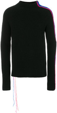 Paura side stripe detail jumper