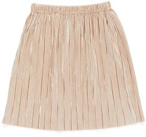 Truly Me Metallic Pleated Skirt (Baby Girls)