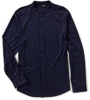 Murano London Collection Slim Coat-Front Shirt