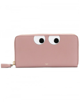 Anya Hindmarch large eye zip wallet