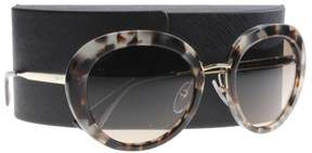 Prada W-SG-3904 SPR 16Q UAO-3D0 - Spotted Opal Brown & Brown Gradient Sunglasses for Womens - 55 x 21 x 135 mm