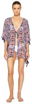 Letarte Kimono w/ Tassels Women's Swimwear