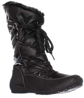 Sporto Charley Faux Fur Lined Snow Boots, Black.