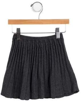 Lili Gaufrette Girls' Knit Pleated Skirt