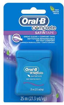 Oral-B Complete Satin Tape Floss Mint