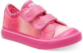 Keds Little Girls' or Toddler Girls' or Baby Girls' Glittery Hl Sneakers