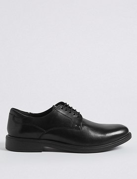 Marks and Spencer Lightweight Leather Gibson Shoe