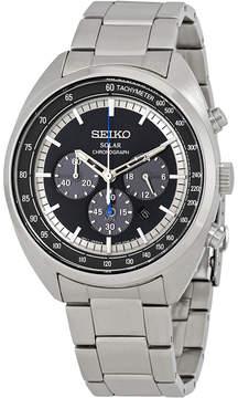Seiko Solar Blue Dial Chronograph Men's Watch