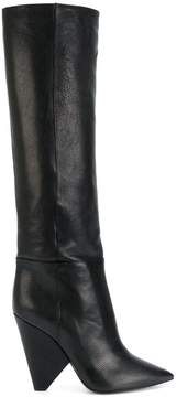 Saint Laurent Niki 105 knee-high boots