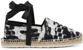 Pierre Hardy Black and White Cube Bauhaus Beach Espadrilles