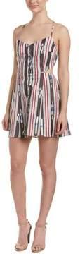 Dolce Vita Bree Linen-blend A-line Dress.