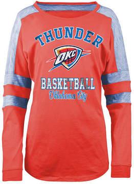 5th & Ocean Women's Oklahoma City Thunder Space Dye Long Sleeve T-Shirt
