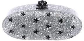 Edie Parker Metallic Star Clutch