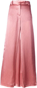 Valentino wide leg flared trousers