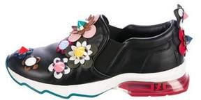 Fendi 2017 Flowerland Slip-On Sneakers