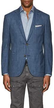 Luciano Barbera Men's Wool-Blend Two-Button Sportcoat