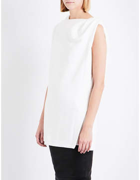 Drkshdw Double-layer sleeveless cotton top
