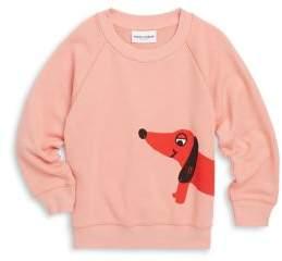 Mini Rodini Baby's, Toddler's, Little Girl's & Girl's Dog Cotton Sweatshirt