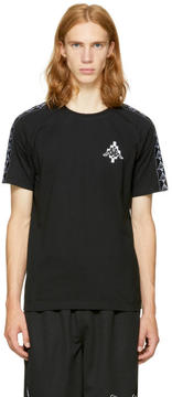 Marcelo Burlon County of Milan Black Kappa Edition Long Sleeve T-Shirt