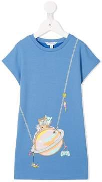 Little Marc Jacobs printed T-shirt dress