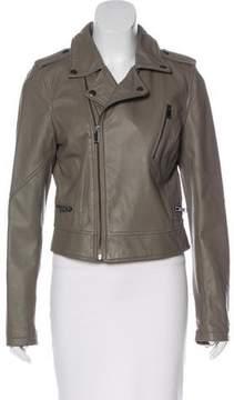 Barneys New York Barney's New York Leather Biker Jacket