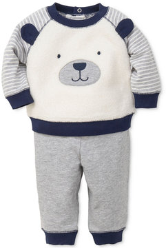 Little Me 2-Pc. Puppy Sweatshirt & Pants Set, Baby Boys (0-24 months)