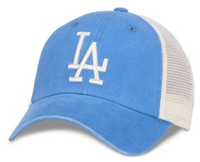 American Needle Men's New School Mlb Trucker Hat - White