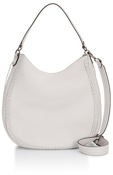 Rebecca Minkoff Unlined Convertible Hobo Whipstitch - NATURAL - STYLE