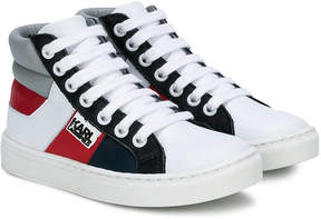 Karl Lagerfeld high-top lace-up sneakers