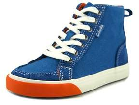 Clarks Club Pop Toddler W Canvas Blue Fashion Sneakers.