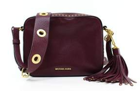 MICHAEL Michael Kors Brooklyn Large Camera Bag - PLUM - STYLE