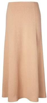 Banana Republic Italian Superloft Midi Sweater Skirt