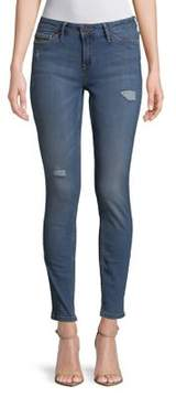 Calvin Klein Jeans Distressed Skinny Jeans