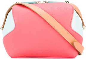 Delpozo bicolour crossbody bag