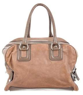 Dolce & Gabbana Leather Lily Bag - BROWN - STYLE