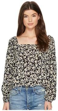 Billabong Spring Days Woven Top Women's Clothing