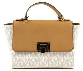 Michael Kors Womens Handbag Tina. - BEIGE - STYLE