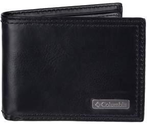 Columbia Men's Rfid-Blocking Extra-Capacity Slimfold Wallet