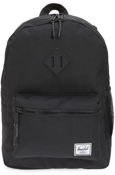 Herschel Boy's Heritage Backpack - Black
