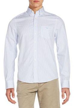 Gant Fitted Striped Cotton Sportshirt