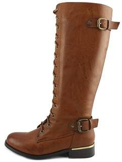 Wanted Womens Cocktail Round Toe Knee High Fashion Boots.