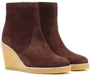 A.P.C. Gaya suede wedge ankle boots