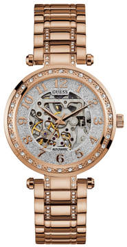 GUESS Gold-Tone Automatic Watch