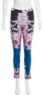 Cynthia Rowley Neoprene Mid-Rise Pants