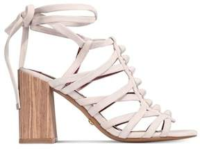 Kensie Womens Sadira Leather Open Toe Casual Strappy Sandals.