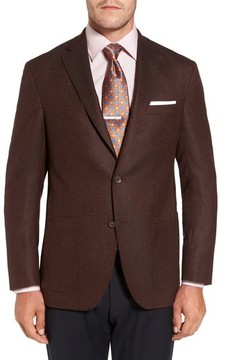 David Donahue Men's Aiden Classic Fit Wool Sport Coat